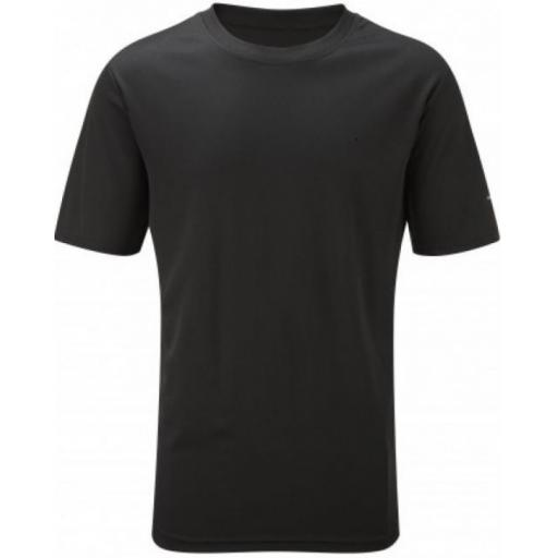 Ronhill Men's Everyday Plain Lightweight Running T-shirt - Black