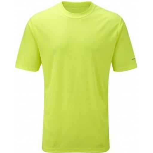 Ronhill Men's Everyday Plain Lightweight Running T-shirt - Yellow