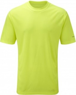 Ronhill_Mens_Everyday_Plain_Tee_Fluo_Yellow_Front_1001.jpg