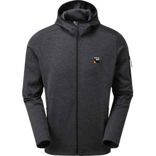 Sprayway Men's Saul Hoody Fleece Jacket - Black
