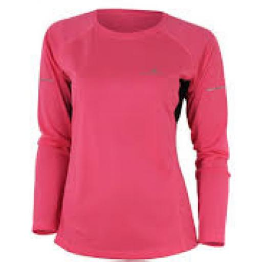 Ronhill Women's Aspiration Sports Running T-Shirt - Pink