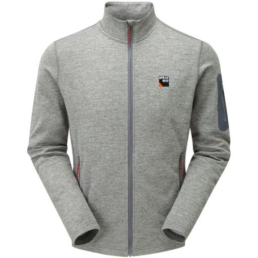 Sprayway Men's Saul Lightweight Fleece Jacket - Grey