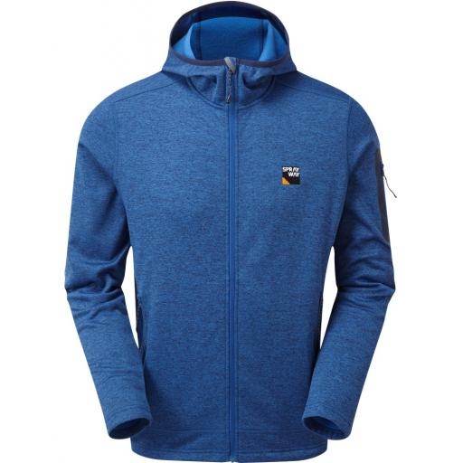 Sprayway Men's Saul Hoody Fleece Jacket - Blue