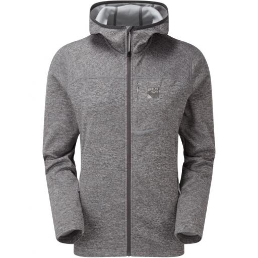 Sprayway Women's Piper HOODY Fleece Jacket - Grey
