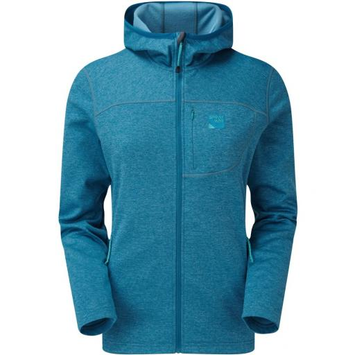 Sprayway Women's Piper HOODY Fleece Jacket -S Blue