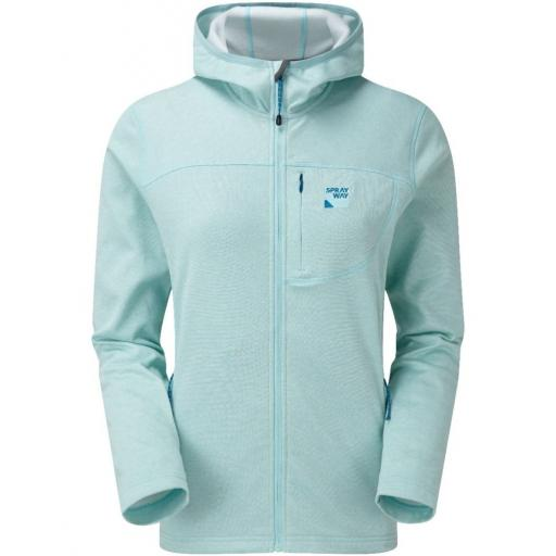 Sprayway Women's Piper HOODY Fleece Jacket - Green