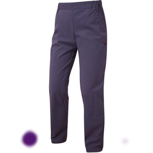 Sprayway Womens Escape Slim Pants Lightweight Hiking & Travel Trousers - Deep Purple