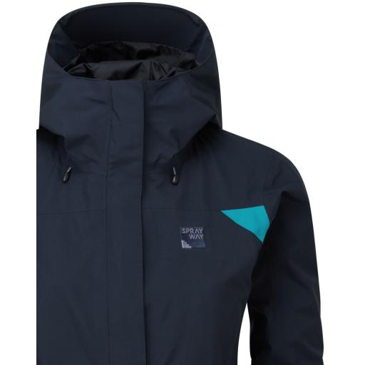 Sprayway_Womens_Reaction_Long_Waterproof_Jacket_Blazer_Blue_Detail_1002.jpg