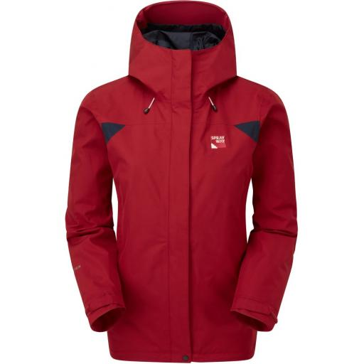 Sprayway Reaction Long Womens Waterproof Gore-Tex Jacket - Red