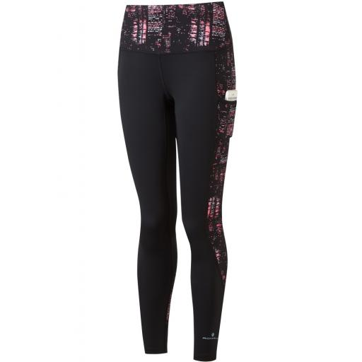 Ronhill Women's Life Sculpt Running Tights / Leggings - Pink