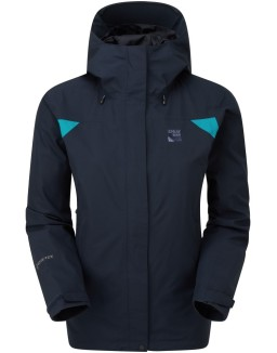 Sprayway_Womens_Reaction_Long_Waterproof_Jacket_Blazer_Blue_Front_1001.jpg