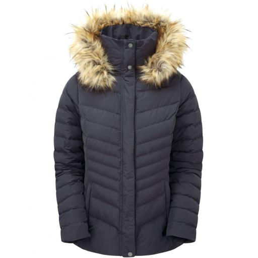Sprayway Womens Woodville Warm Down Jacket - Dark Grey