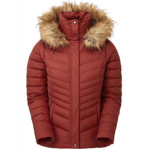Sprayway Womens Woodville Warm Down Jacket - Red