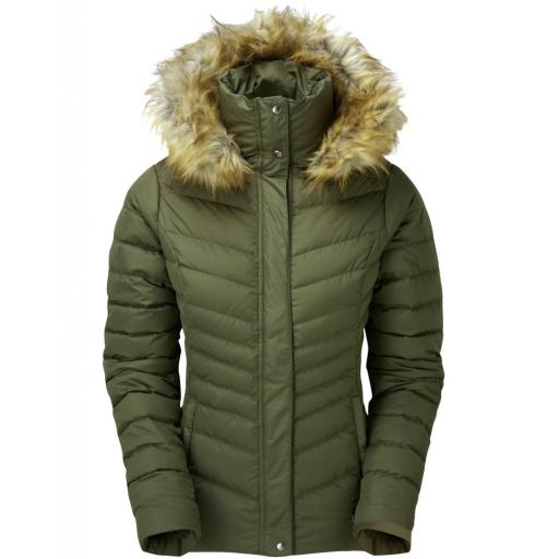 Sprayway Womens Woodville Warm Down Jacket - Green