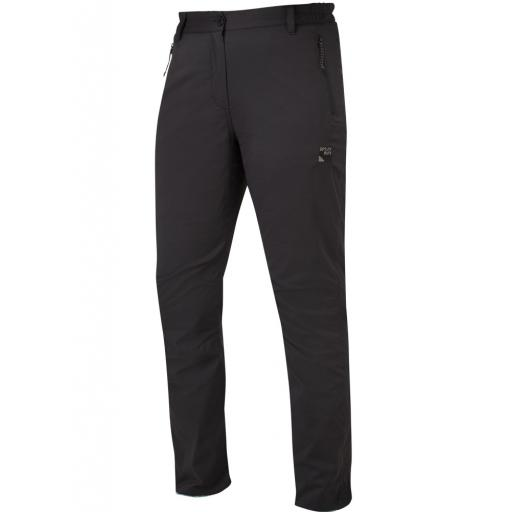 Sprayway Women's All Day Rainpants Waterproof Walking Trousers Slim - Black