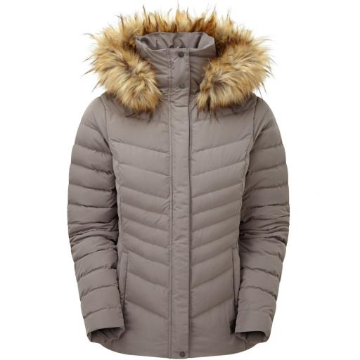 Sprayway Womens Woodville Warm Down Jacket - Gray
