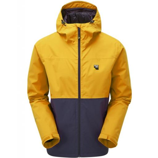 Sprayway Hergen Mens Waterproof Breathable Hooded Jacket - Yellow