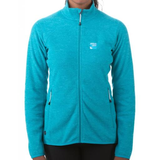 Sprayway Women's Berit Warm Fleece Hiking Jacket - Pale Blue