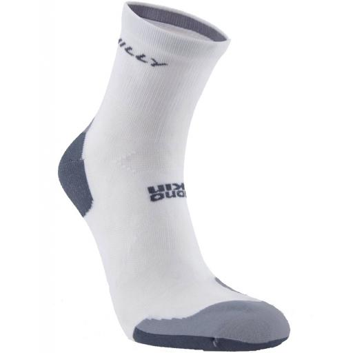 Hilly Mens Marathon Fresh Running Socks - White