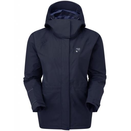 Sprayway Vista Womens Waterproof Gore-Tex Jacket - Blue