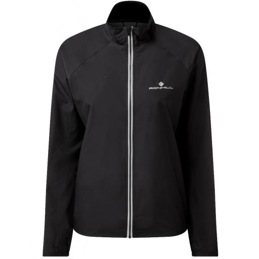Ronhill Womens Core Running Wind Jacket - Black