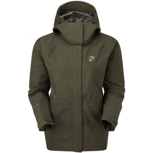 Sprayway Vista Womens Waterproof Gore-Tex Jacket - Green