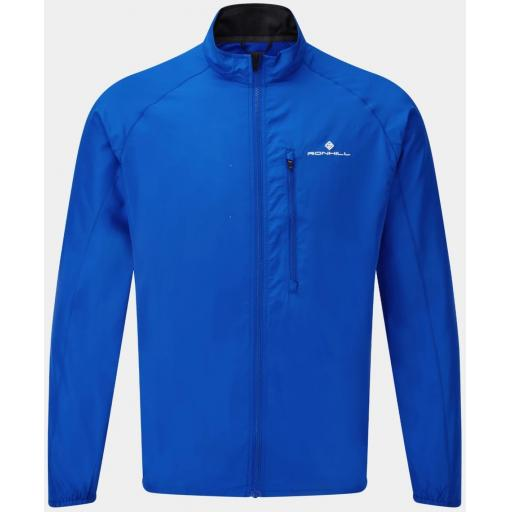 Ronhill Men's Core Wind Jacket Windproof Running Top - Blue