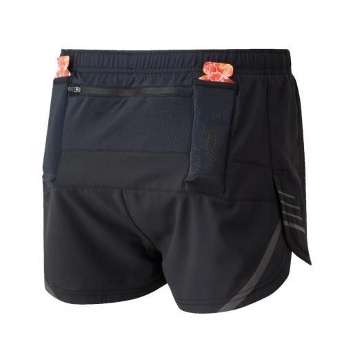 Ronhill Mens Tech Cargo Racer Running Shorts - All Black