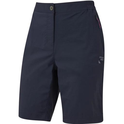 Sprayway Womens Escape Lightweight Hiking and Travel Shorts - Blue