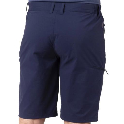 Sprayway Mens Compass Hiking Shorts Blazer Blue Rear