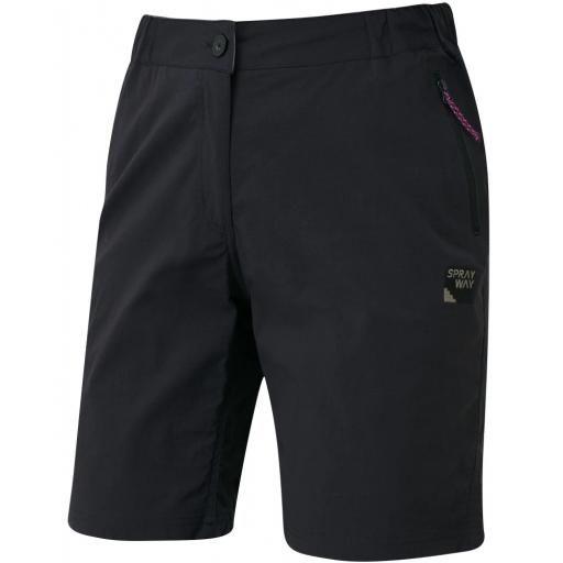 Sprayway_Womens_Escape_Shorts_Front_Black_1001.png