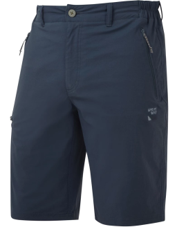 Sprayway Mens Compass Hiking and Travel Shorts Blazer Blue Front