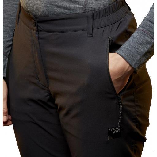 Sprayway Womens All Day Rainpants Zipped Pocket