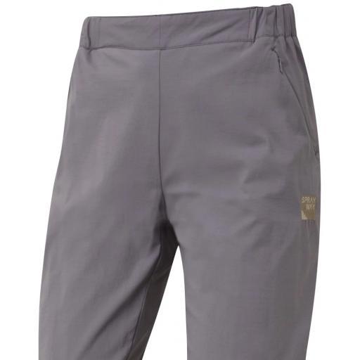 Sprayway Women's Escape Slim Pants Mink Grey Front detail_1001.png