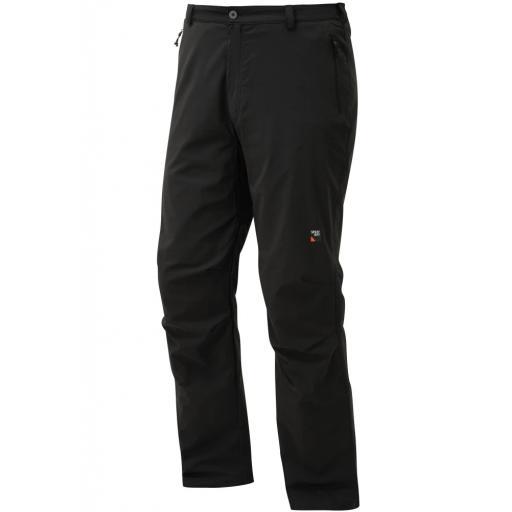Sprayway All Day Rainpant Men's Waterproof Walking Trousers Rain-Pants - Black Short Leg