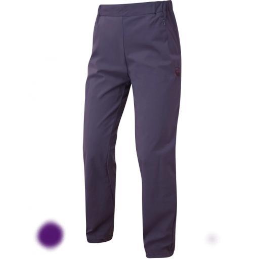 Sprayway Womens Escape SLIM Pants Lightweight Hiking & Travel Trousers - Deep Purple