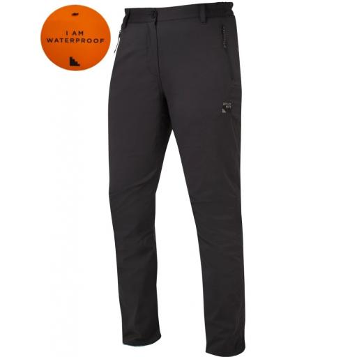 Sprayway All Day Womens Rainpant Black Front Waterproof Trousers