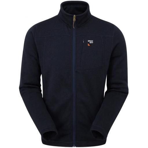 Sprayway Men's Minos Warm Fleece Jacket - Blazer Blue