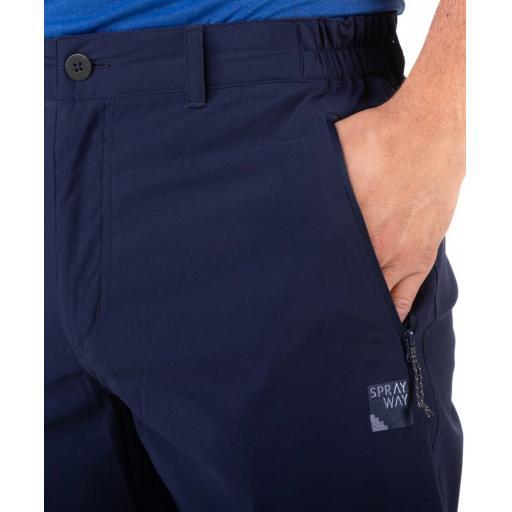 Sprayway Mens Compass Pants Blazer Blue Pocket