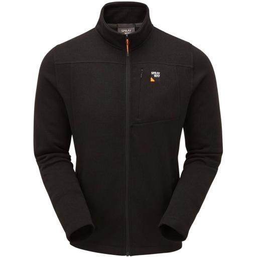 Sprayway Men's Minos Warm Fleece Jacket - Black
