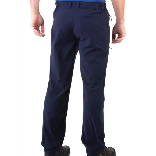 Sprayway Mens Compass Pant Black Rear