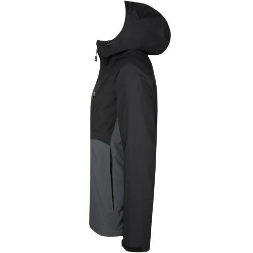 Sprayway Hergen Mens Waterproof Jacket Black Slate side