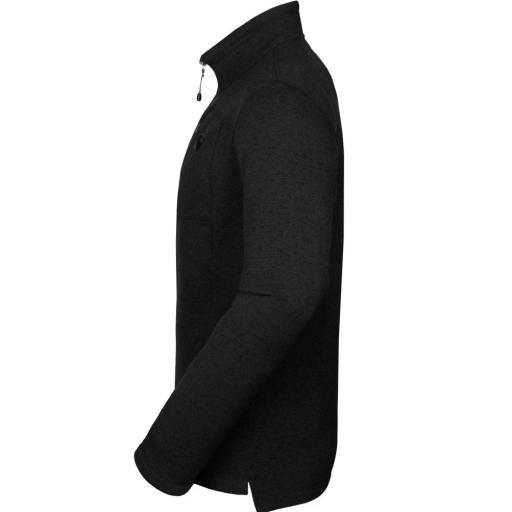 Sprayway Mens Minos Fleece Jacket Black Side View