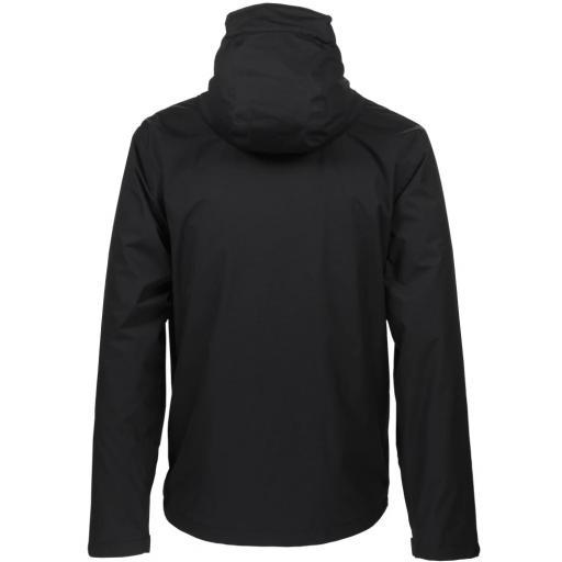 Sprayway Mezen Mens Waterproof Jacket Black Rear