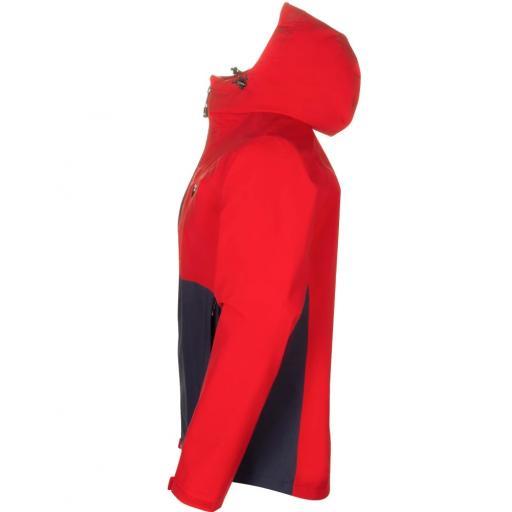 Sprayway Hergen Mens Waterproof Jacket Racing Red Blazer Blue Side
