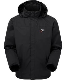 Sprayway Mezen Mens Waterproof Jacket Black Front