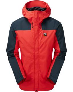 Sprayway Mens Hain Waterproof Jacket Front Racing Red Blazer