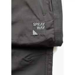 Sprayway Mens Compass Pant Carbon Grey Detail