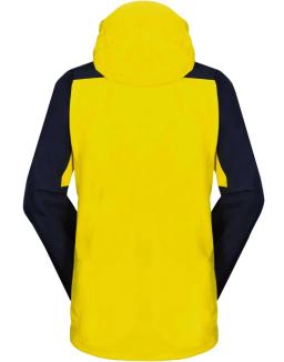 Sprayway Mens Torridon Waterproof Jacket Lightning Yellow Blazer Blue Yukon Rear