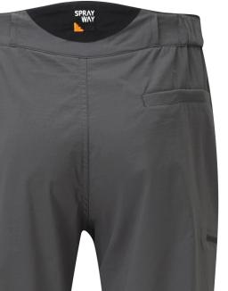 Sprayway Mens Compass Pant Carbon Grey Rear Pocket